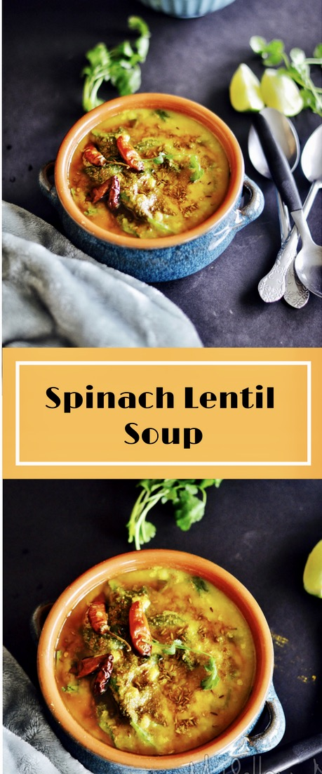 Soup, Stew, Vegan, Vegetarian, Dal, Dahl, Baby Sppinach, yellow Lentils