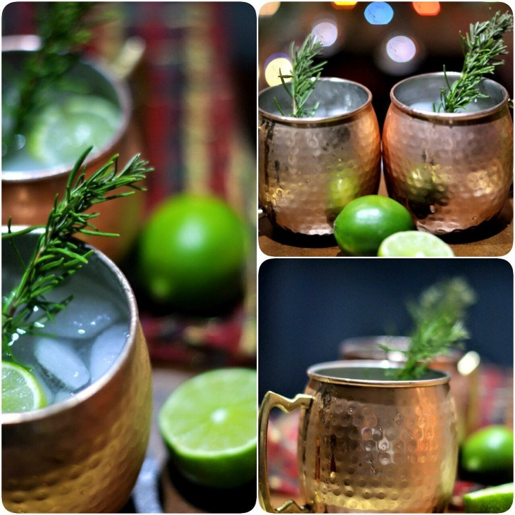 Rosemary Infused Moscow Mule