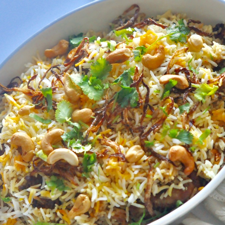 One pot Meal, Biryani, Chicken Pulao, Chicken Dum Biryani, Hyderabadi Dum Biryani