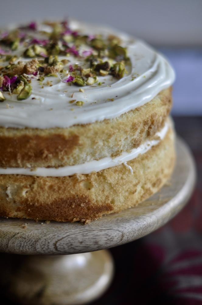 Cardamom Cream Cake
