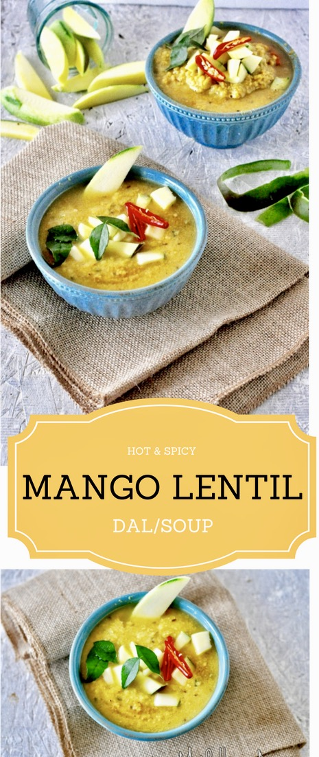 Lentil Soup with Green Mango