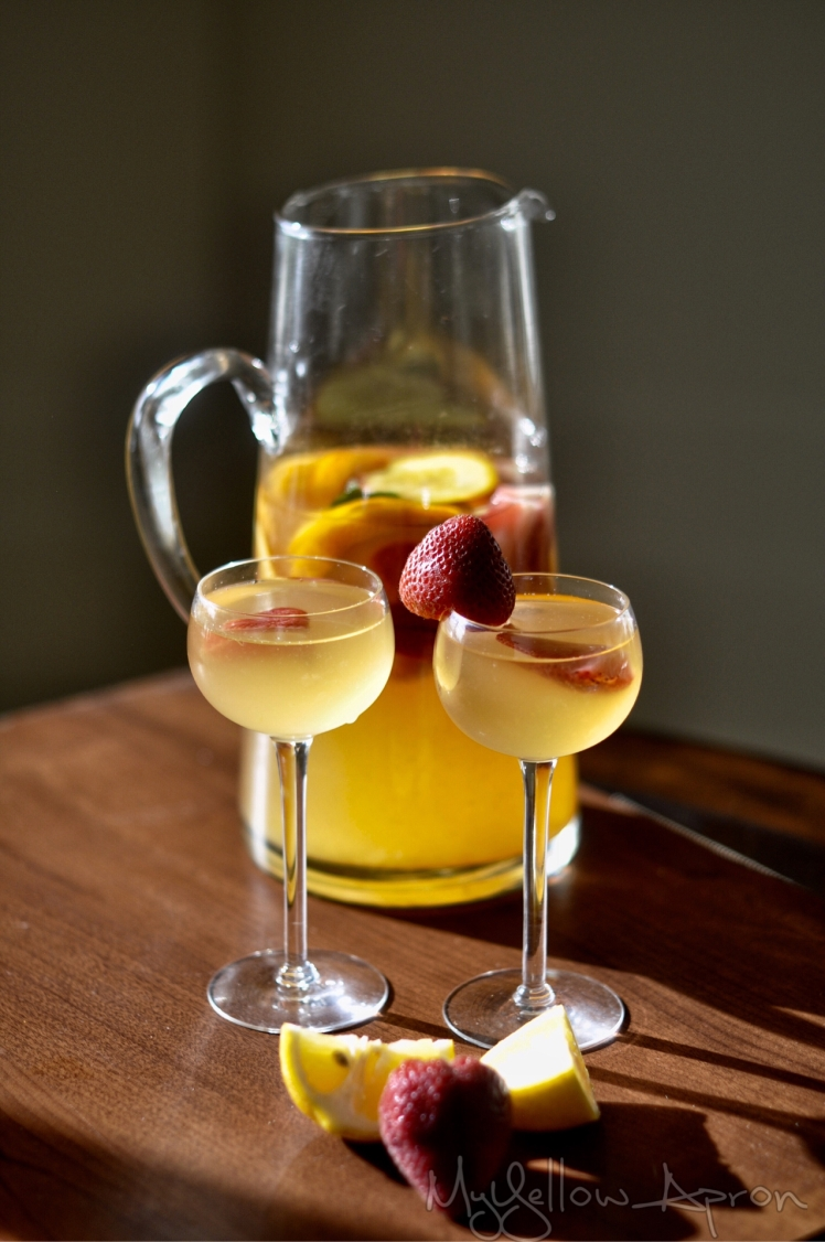 Not-So-Fruity Sangria