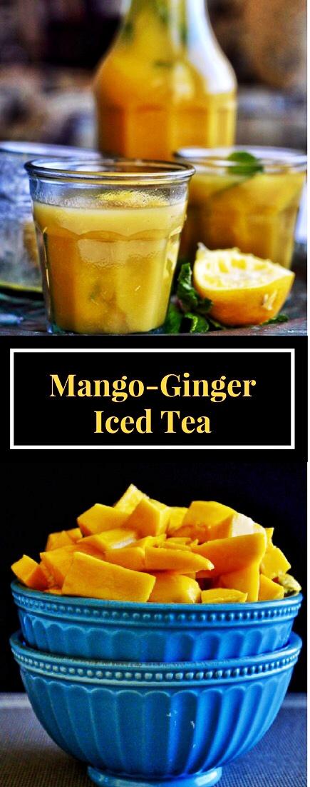 Sugar-Free, Mango, Tea, Iced Tea, Honey, Ginger
