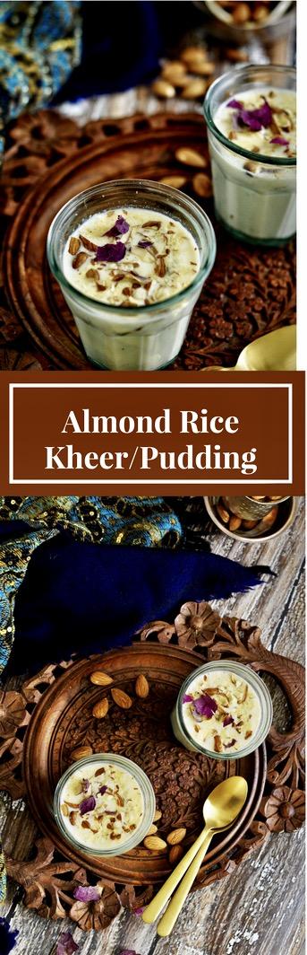 Almond Rice Kheer