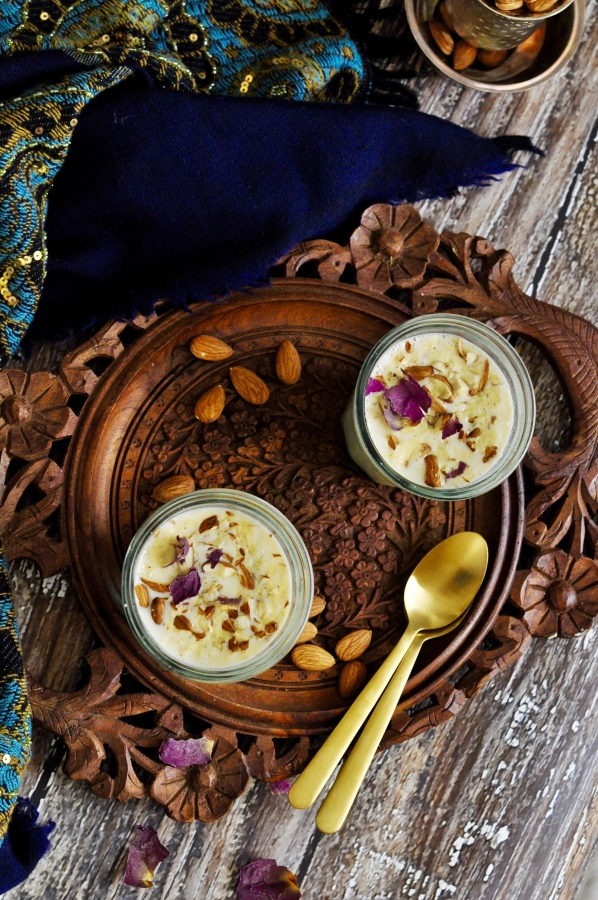 Pudding, Vegetarian, Celebration, Dessert, Indian Sweet, Rice Kheer, Almond Kheer