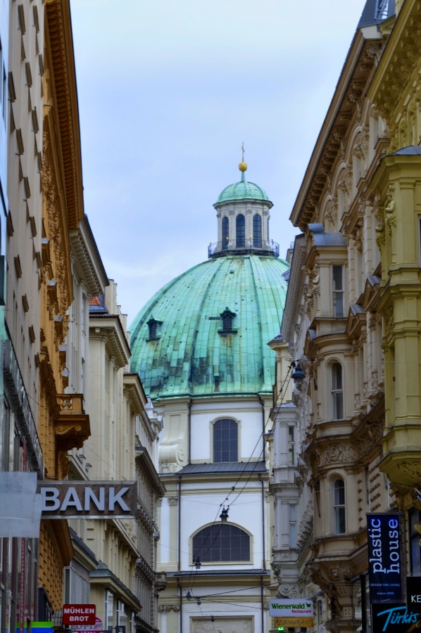 St. Peter's Church (Peterskirche) at Graben Street