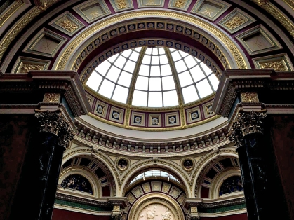 The Dome inside National Gallery