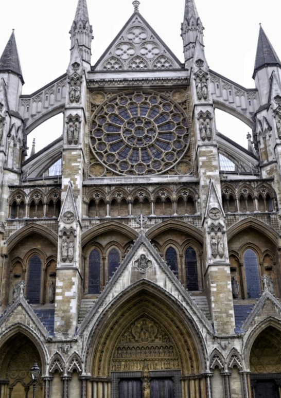 The North Entrance of Westminster Abbey