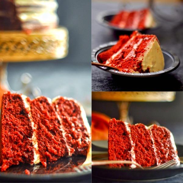 The Naked Red Velvet Cake