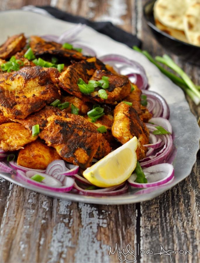 Tandoori Fish Tikka, Tandoori fish, fish fry