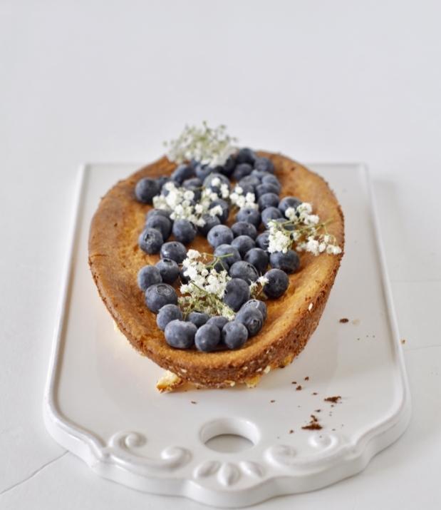 Ricotta Cheese Tart (Egg-less, Flour-less), Ricotta Cheesecake