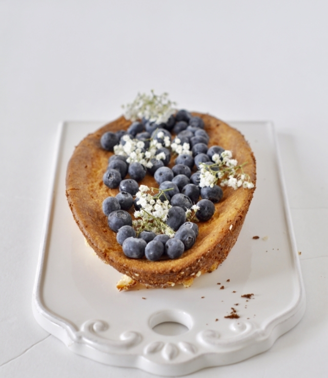 Ricotta Cheese Tart (Egg-less, Flour-less), Ricotta Cheesecake