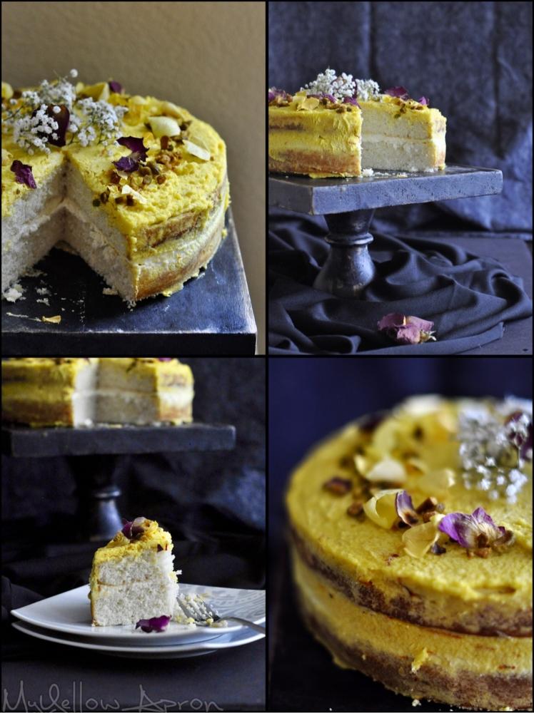 rasmalaicake, fusioncake, rasmalai, weddingcake, celebrationcake, foodphotography, saffron, mascarponefrosting, cardamom