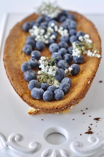 Egg Free Dessert, Flour Free Dessert, Vegan, Vegetarian, Gluten Free, Ricotta, Tart, Pie, Cheesecake