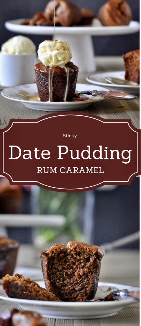 Date, Pudding, Custard, Rum, Caramel Sauce, Sticky Date Pudding, Date cake