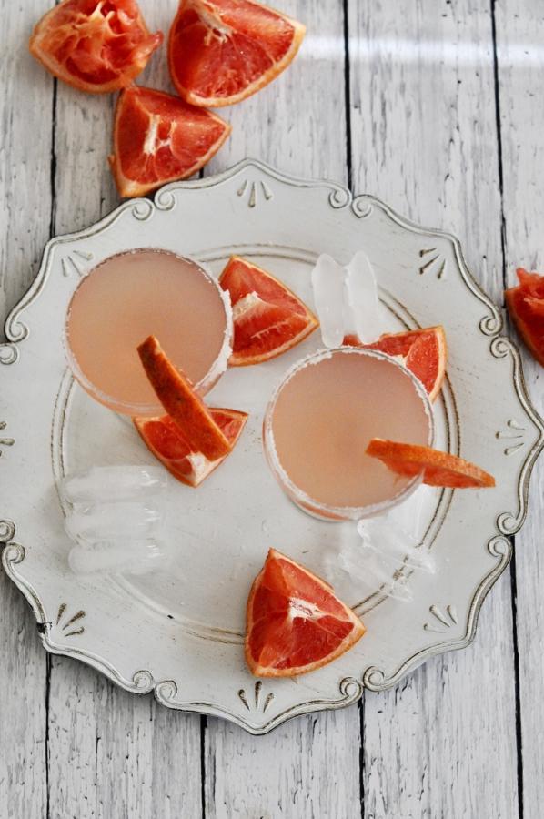 Pink Grapefruit Paloma