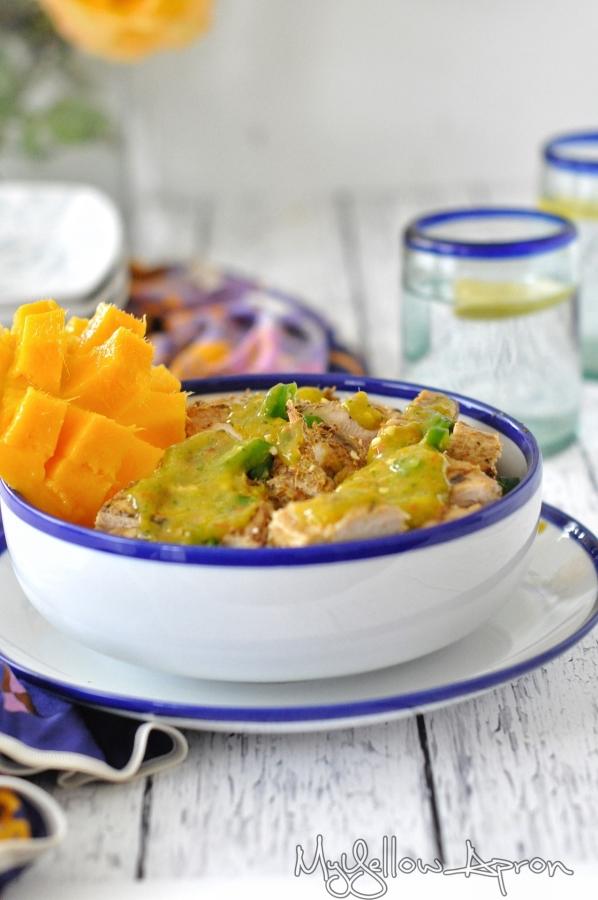 Chili-Lime-Mango Chicken (Healthy)