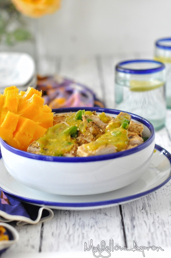 Chili-Lime-Mango Chicken (Healthy)