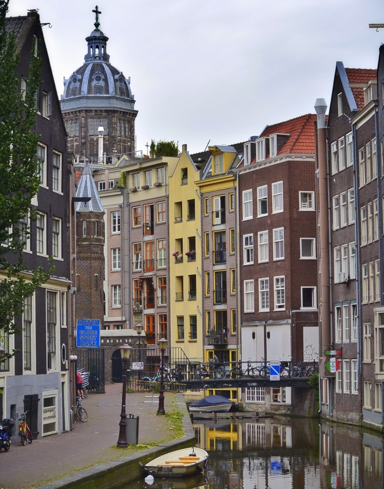 Amsterdam+canal