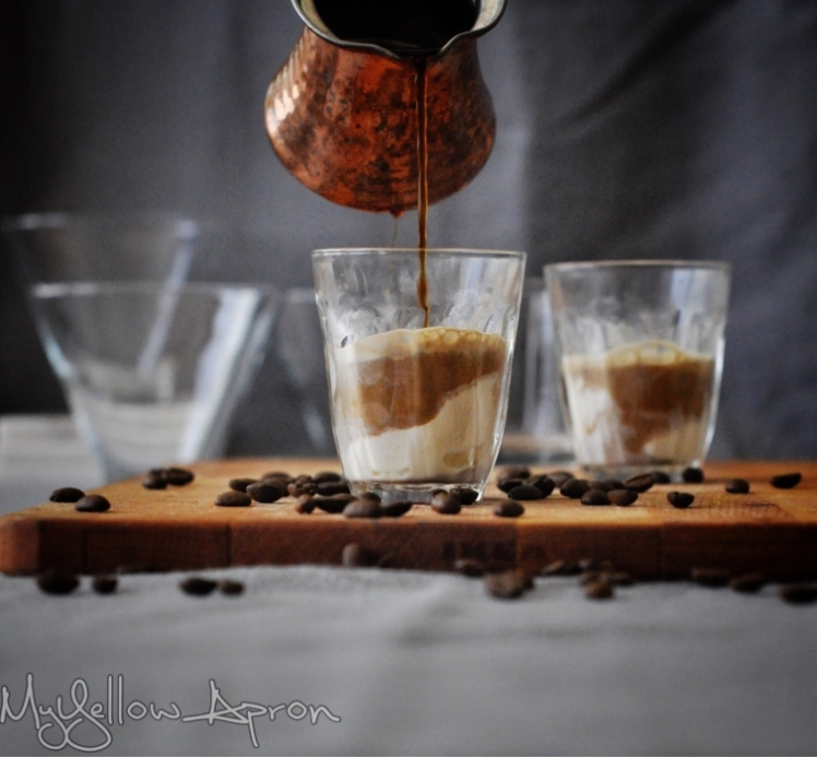 Affogato, How to Make an Affogato, Italian, offee Dessert, Espresso
