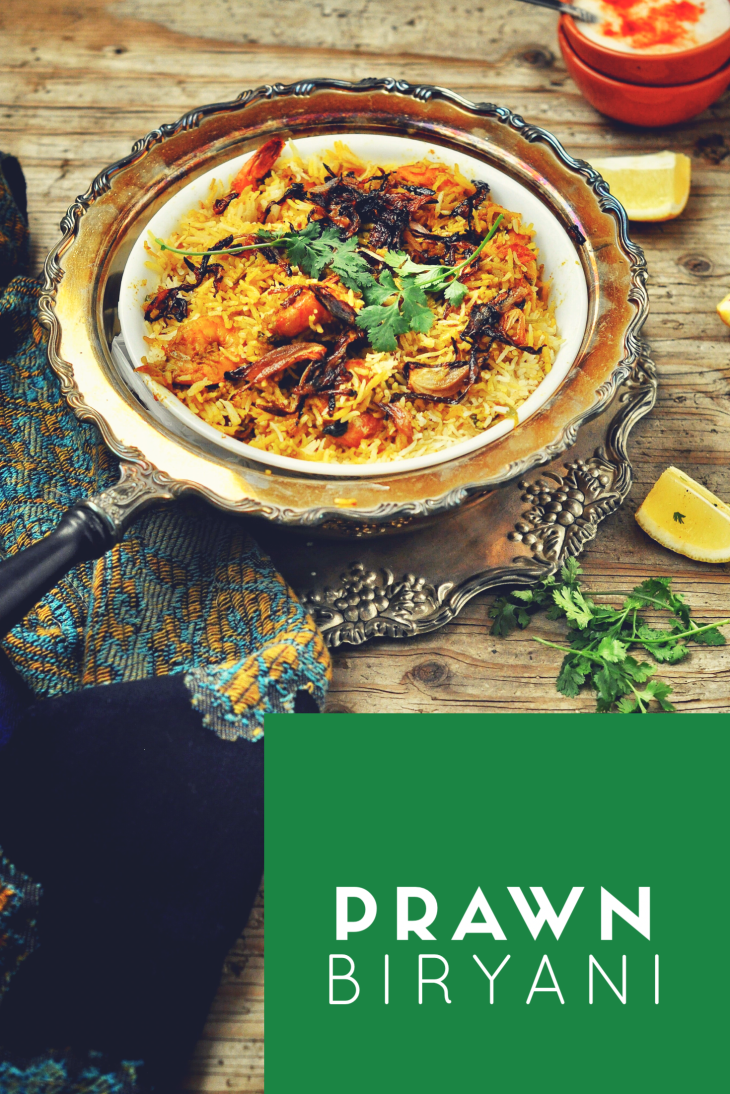 Prawn_Biryani, Shrimp_Biryani, Jhinga_Biryani, One pot meals