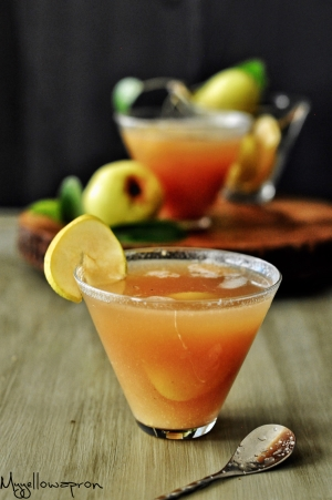 Pear Ginger Honey Mocktail