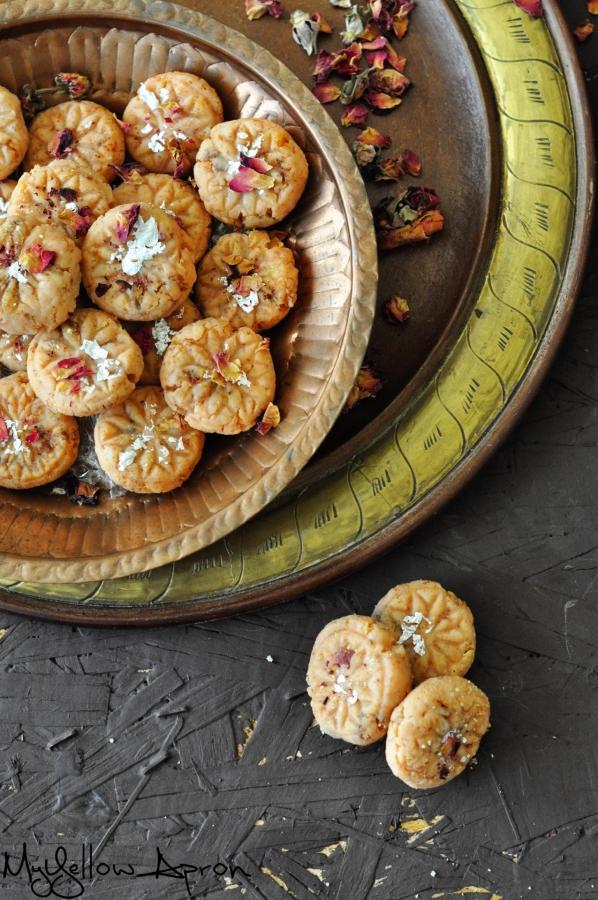 Rose Peda, Gulkand Peda, Pedha, Diwali, Sweets, Indian Sweets, Milk, Fudge