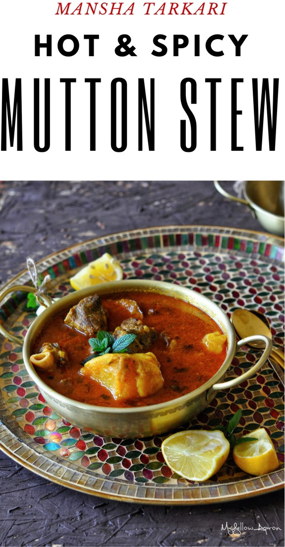 Mangsha Tarkari, Mutton Potato Stew, Mutton Curry, Low Cooker Curry, Insta Pot Curry, Pressure Cooker Curry, Meat Curry, Lamb Curry, Odia Cooking, Mansa Tarkari
