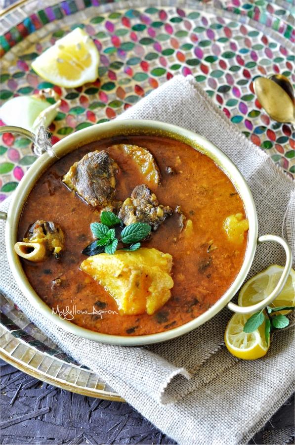 Mangsha Tarkari, Mutton Potato Stew, Mutton Curry
