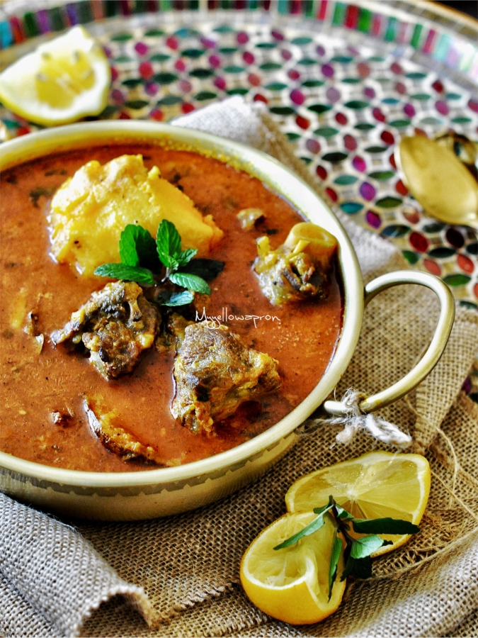 Mangsha Tarkari, Mutton Potato Stew, Mutton Curry, Low Cooker Curry, Insta Pot Curry, Pressure Cooker Curry, Meat Curry, Lamb Curry, Odia Cooking