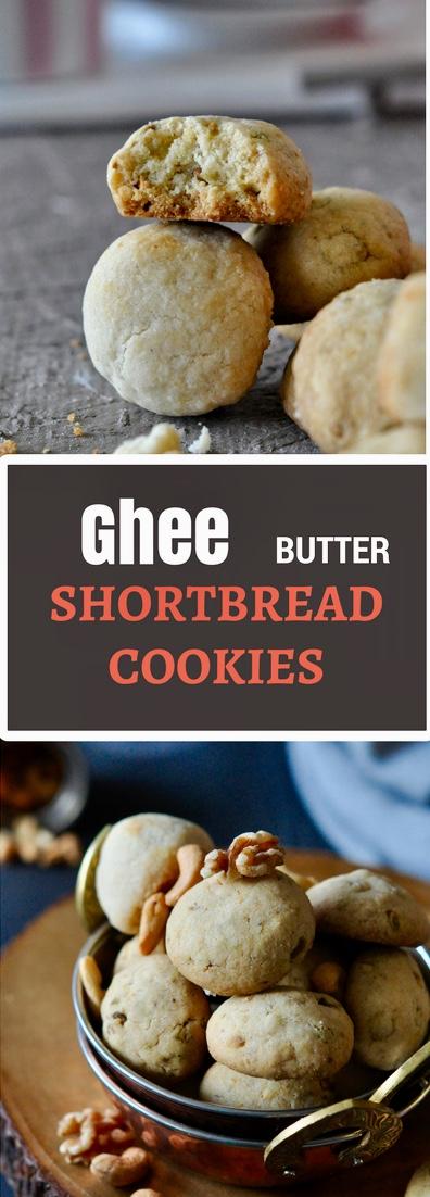 Clarified Butter, Ghee Butter, Ghee, Organic Ghee Cookies, Shortbread Cookies, Nutty Cookies, Ghee Cookie Recipe, Nankhatai Cookies