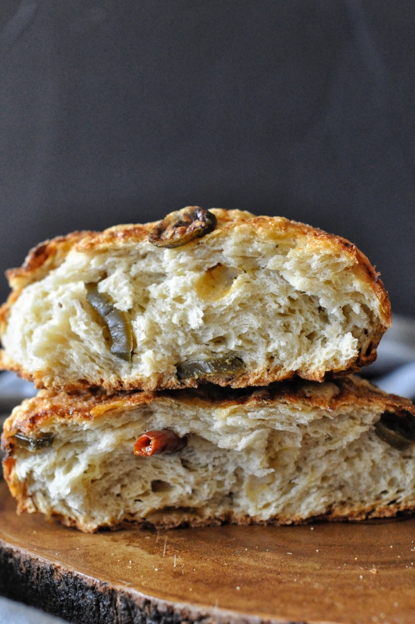 Artisan Bread, No Knead Bread, Cheese Bread, Chili Bread, Gouda Cheese, Cumin Bread, Home Baked Bread, Bread, Yeast