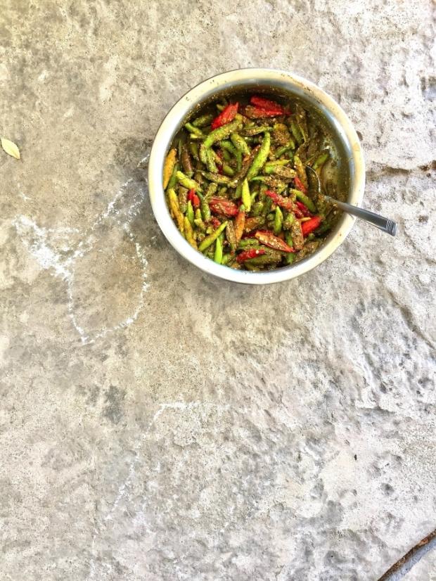 vegan, gluten free, no sugar, instantly made, greenchiliachaar, condiment, mustardoilachhar