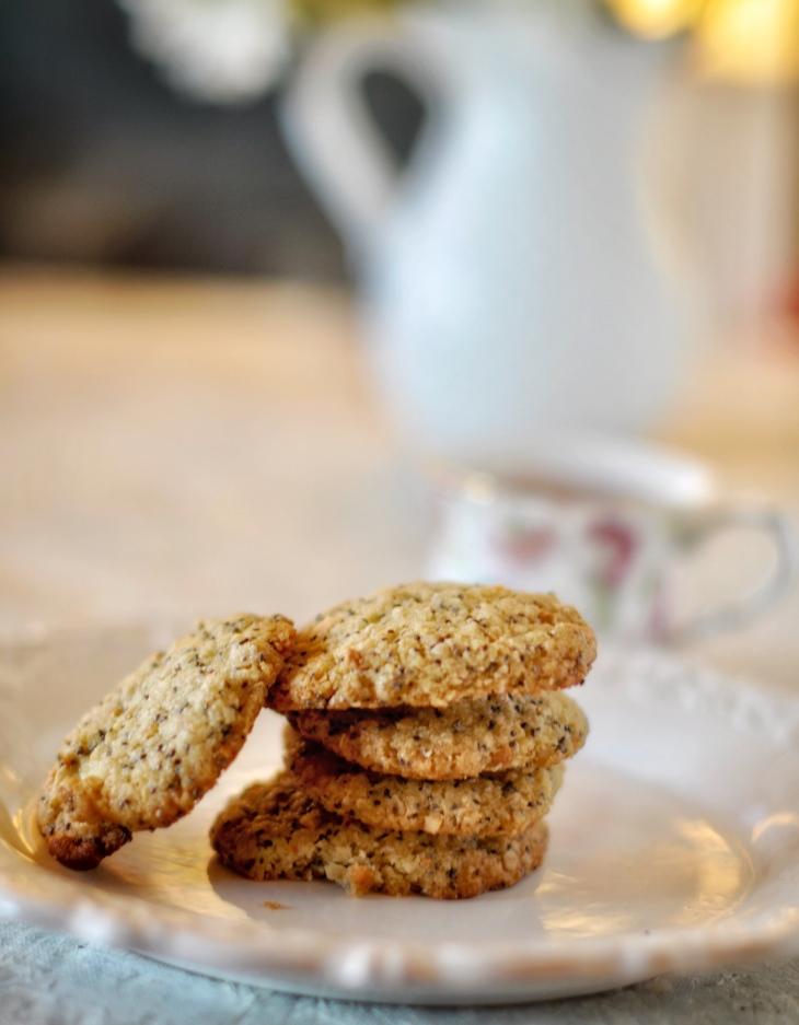 Gluten free cookies, Almond cookies, Oatmeal cookies, Flax seeds cookies