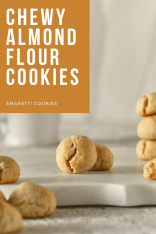 Chewy almond flour cookies