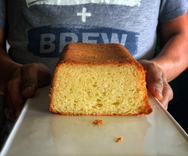 Orange_Loaf_Cake (Butter Free, Egg Free)