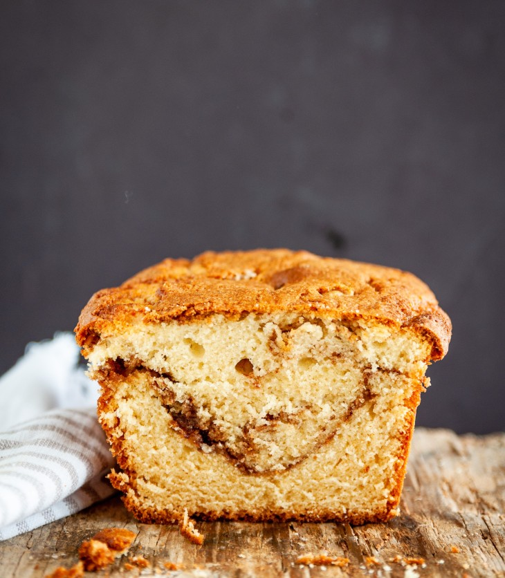 This fragrant and delicious cinnamon swirl coffee cake is your perfect snack cake for tea and coffee. The cinnamon-sugar crumb on top along with the cinnamon sugar swirl makes this cake a perfect crumb cake. Serve this cake while it's still warm from the oven, at room temperature, or even cold and this also makes a perfect travel cake.